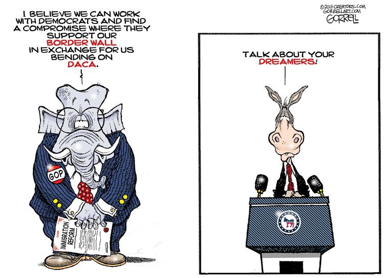 Immigration Reform - GorrellArt com